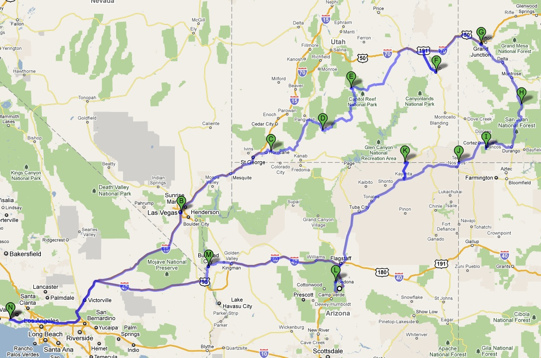 RV.Net Open Roads Forum: Utah - Colorado - Arizona Trip Report